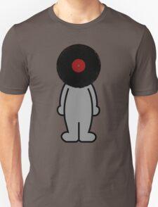 Vinylized!!! Vinyl Records DJ Retro Music Man T-Shirt Stickers Prints T-Shirt