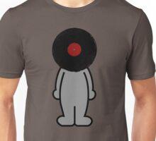 Vinylized!!! Vinyl Records DJ Retro Music Man T-Shirt Stickers Prints Unisex T-Shirt