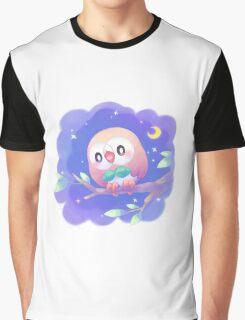Pokemon - Rowlet Graphic T-Shirt