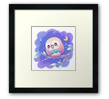 Pokemon - Rowlet Framed Print