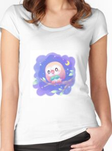 Pokemon - Rowlet Women's Fitted Scoop T-Shirt