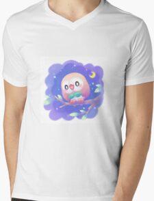 Pokemon - Rowlet Mens V-Neck T-Shirt