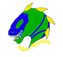 No Name Badge/Sticker Photographic Print
