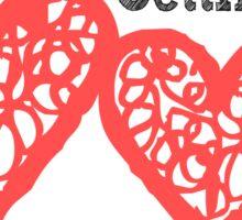 Lost in Love Sticker
