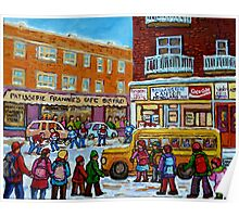 MONKLAND VILLAGE MONTREAL MEMORIES  Poster