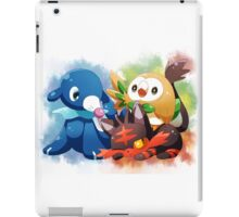 Pokemon - Popplio, Litten, Rowlet iPad Case/Skin