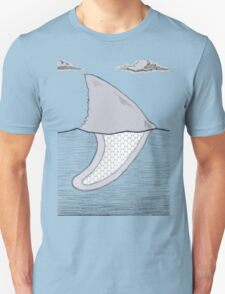 Surf shark Unisex T-Shirt