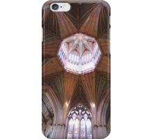 Ely Cathedral Ceiling. Cambridgeshire, UK iPhone Case/Skin
