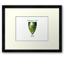 Citizen: Oz II Framed Print