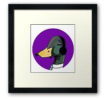 Business Duck Framed Print