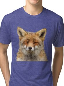 Cute Fox Tri-blend T-Shirt