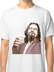 Big Lebowski DUDE Portrait Classic T-Shirt