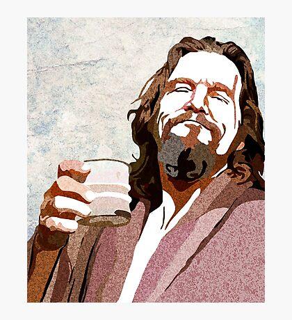 Big Lebowski DUDE Portrait Photographic Print