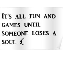 It's all fun and games Poster