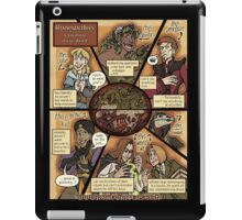 Runewriters Cast Poster iPad Case/Skin