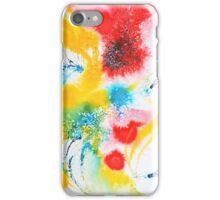 spinning thistle iPhone Case/Skin