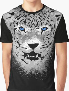 White Tiger - Paint Splatters Dubs T-Shirt Stickers Art Prints Graphic T-Shirt