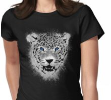 White Tiger - Paint Splatters Dubs Womens Fitted T-Shirt