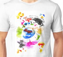 Abstract Ink Unisex T-Shirt