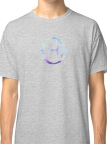 Theta Blue Watercolor Letter Classic T-Shirt