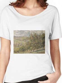 Claude Monet - Apple Blossom Women's Relaxed Fit T-Shirt