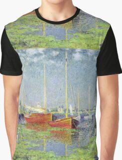 Claude Monet - Argenteuil 1882 Graphic T-Shirt