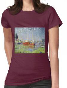Claude Monet - Argenteuil 1882 Womens Fitted T-Shirt