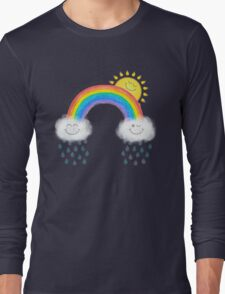 Somewhere over the rainbow... Long Sleeve T-Shirt