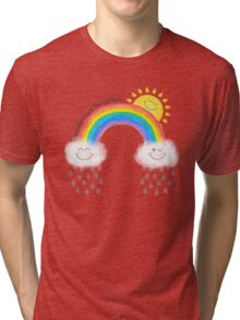 Somewhere over the rainbow... Tri-blend T-Shirt
