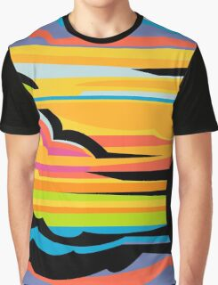 Fast Car - Abstract Graphic Graphic T-Shirt