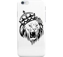 Crown Lion iPhone Case/Skin