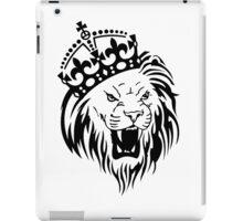 Crown Lion iPad Case/Skin