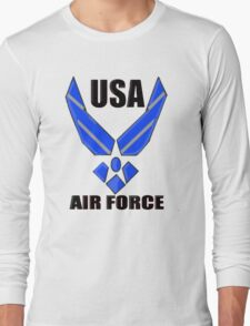 US AIR FORCE LOGO Long Sleeve T-Shirt