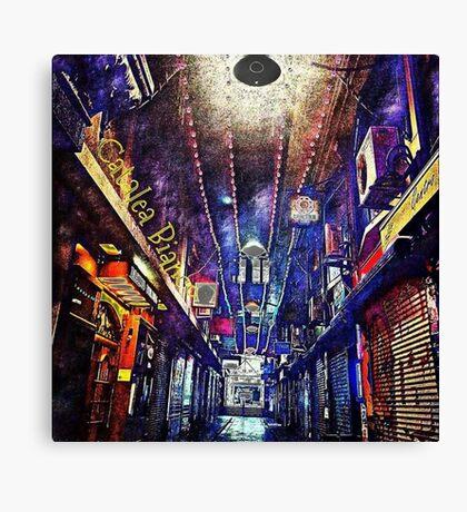 Melbourne Lanes Canvas Print