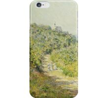 Claude Monet - Aux Petites Dalles 1884 iPhone Case/Skin
