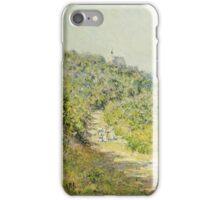 Claude Monet - Aux Petites Dalles 1884 iPhone Case/Skin