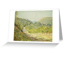 Claude Monet - Aux Petites Dalles 1884 Greeting Card