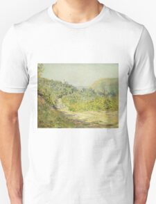 Claude Monet - Aux Petites Dalles 1884 Unisex T-Shirt
