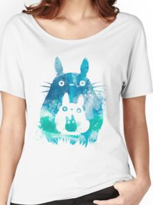 My Neighbor Totoro Watercolor  Women's Relaxed Fit T-Shirt