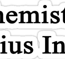 Chemistry Genius Inside  Sticker