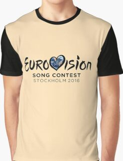 Eurovision 2016 Graphic T-Shirt
