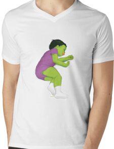 Toddler Smash! Mens V-Neck T-Shirt