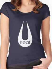 Heat Logo Retro - 2 (GTA V) Women's Fitted Scoop T-Shirt