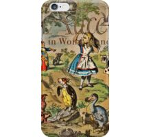 Alice and Friends Book Cover iPhone Case/Skin