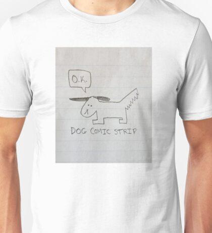 DOG COMIC STRIP - Dog Unisex T-Shirt