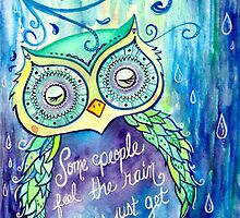 Rain Owl by Rootedbeauty