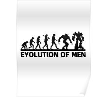 Evolution of Men Poster