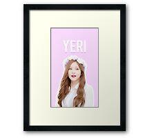 Yeri Framed Print
