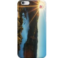 SCREAMING SUN RIVER RICK AND MORTY iPhone Case/Skin