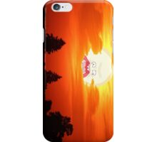 SCREAMING SUNSET RICK AND MORTY  iPhone Case/Skin